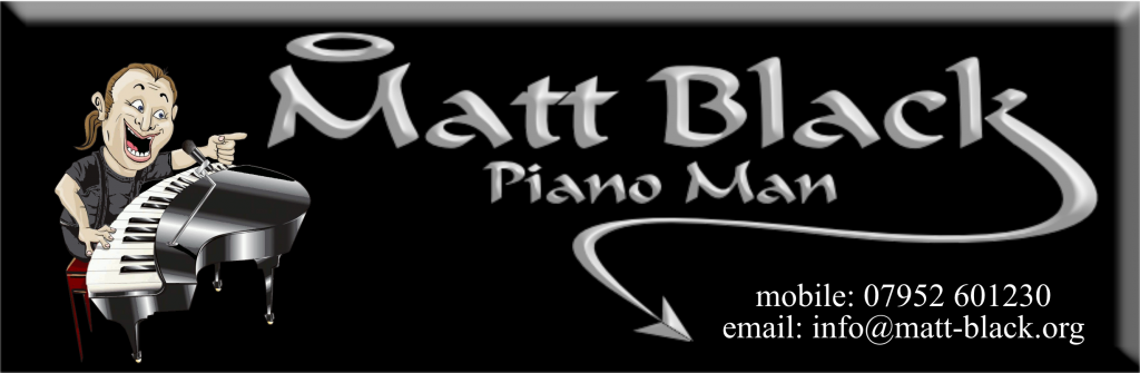 MATT BLACK- PIANOMAN