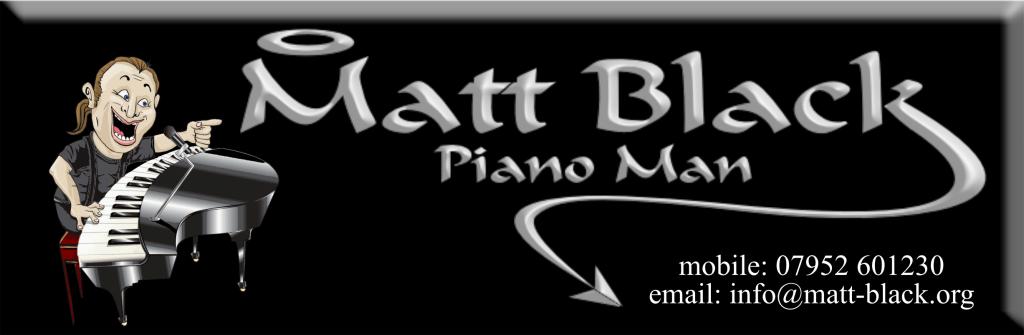 MATT BLACK- PIANOMAN
